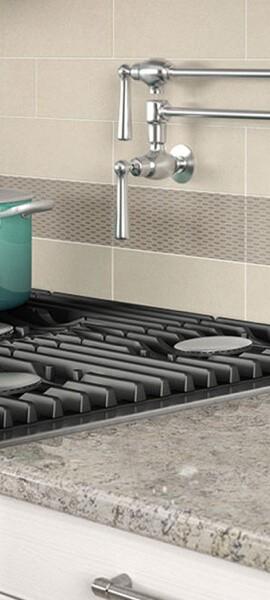 tile backsplash in kitchen | Color Interiors