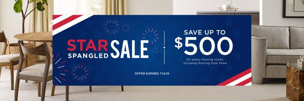 Star Spangled Banner Sale