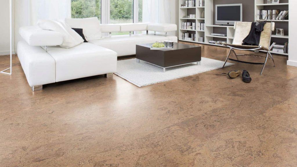 Cork Flooring   Color Interiors