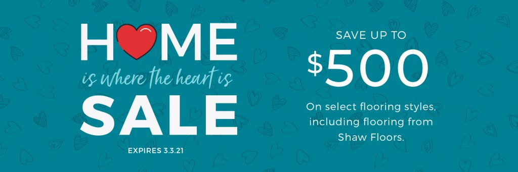 Home is Where the Heart is Sale | Color Interiors
