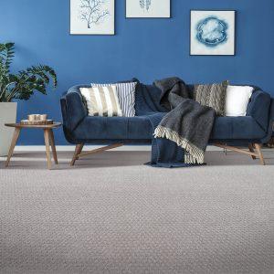 Grey Carpet flooring | Color Interiors