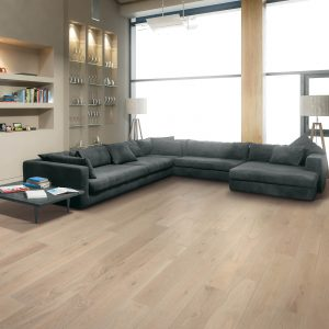 Vinyl flooring for modern living room | Color Interiors