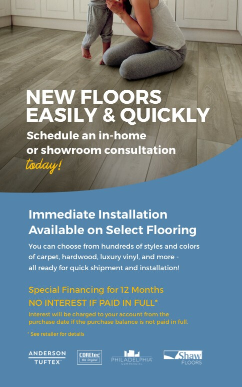 New floors easily and quickly | Color Interiors