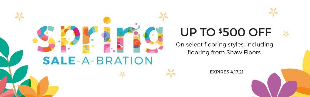 Spring Sale-A-Bration | Color Interiors